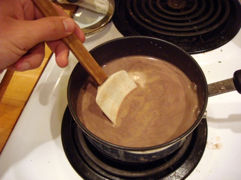 Hott Chocolate Stirring