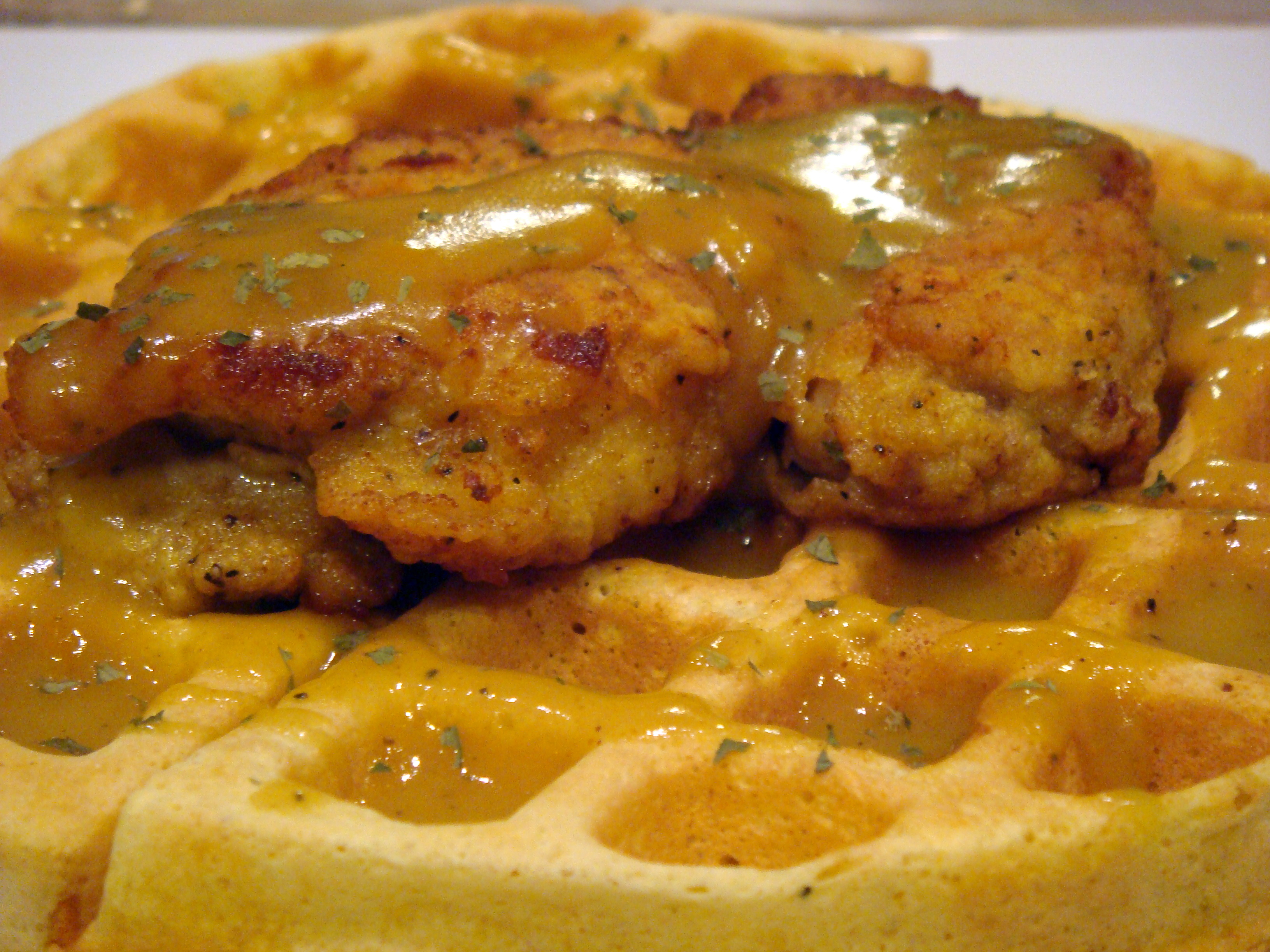 Recipe Re(redux): Chicken and Waffles – Indian Style | 43north ...